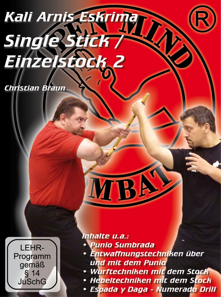 Bild 1 von DVD: Kali-Arnis-Eskrima Single Stick 2