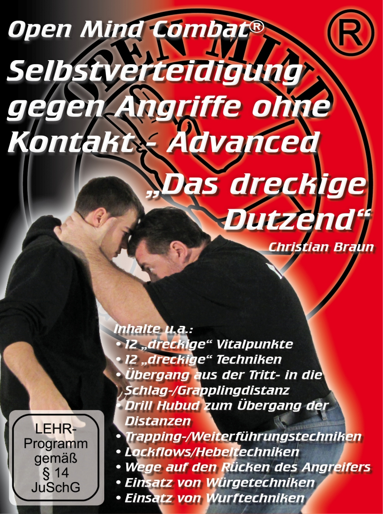 Bild 1 von DVD: Self-defence against attacks without contact - Advanced