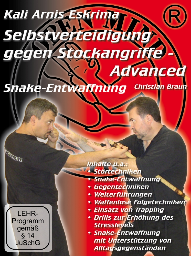 Bild 1 von DVD: Self-defence against stick attacks - Advanced Snake-Disarming technique